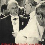 I cattolici e la politica. L'esempio di Luigi Gedda e Padre Lombardi