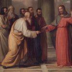I discepoli non si lavavano le mani…